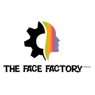 logo design for a company called the face factory